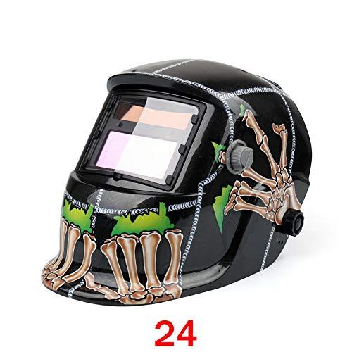 Bruce Shark Pro Solar Auto Darkening Welding Helmet Arc Tig Mig Grinding Welder Mask 024