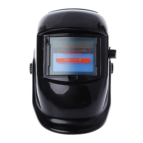 SAUJNN Pro Solar Auto Darkening Welding Helmet Mask Arc Tig Mig Grinding Welder Cap Safety Goggles