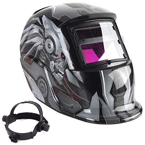 DUOER home Welders Mask Welding Helmets Solar Automatic Darkening Adjustable Welding Helmet Shade Range 49-13 ARC Electric Welding Mask Lens Welder Protective Gear