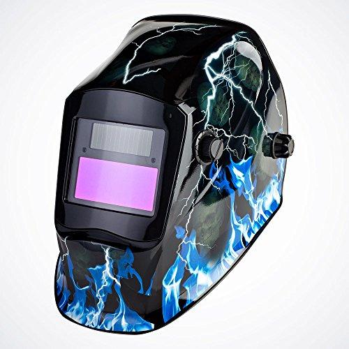 GotHobby Pro Lightning Solar Auto Darkening Welding Helmet Mask Grinding Hood Arc Tig Mig