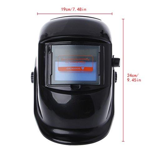 Huilier Pro Solar Auto Darkening Welding Helmet Mask Arc Tig Mig Grinding Welder Cap