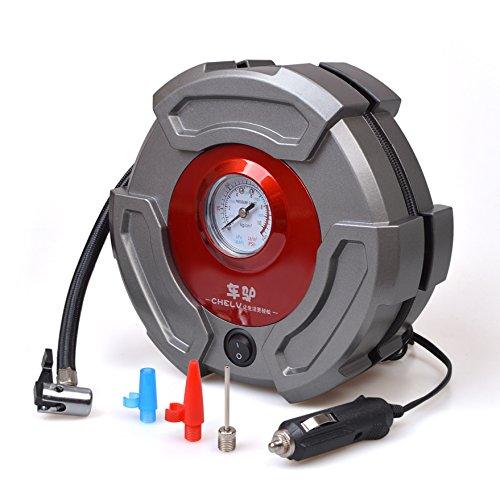 Tire Inflator Pump Seantter Premium 12V DC Portable Air Compressor Pump