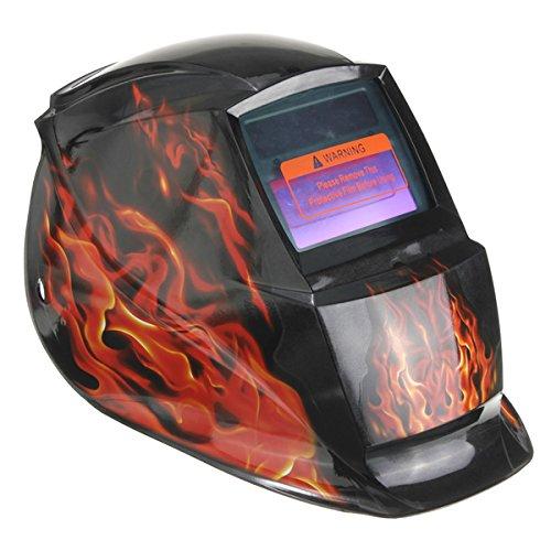 Big Fire Solar Auto Darkening Arc Tig Mig Welding Grinding Helmet Welder Mask