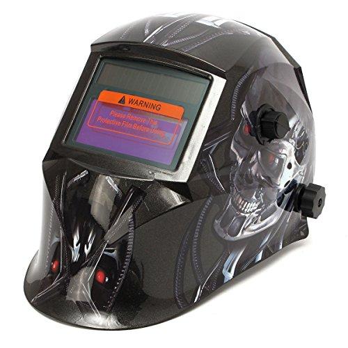 Cool Robot Solar Auto Darkening WeldingGrinding Helmet Mig