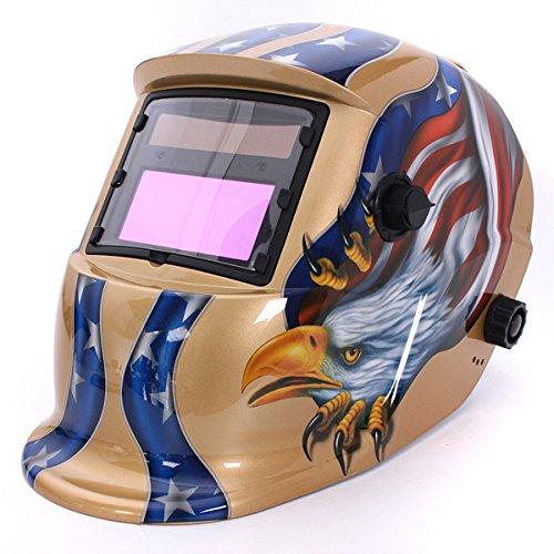 Eagle Solar Auto Darkening Welding Grinding Helmet Arc Tig mig Welders Mask 2 Color