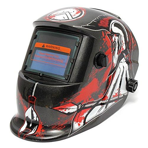 The Spear of Death Pattern Solar Auto Darkening Welding Grinding Helmet Welder ARC TIG MIG Mask