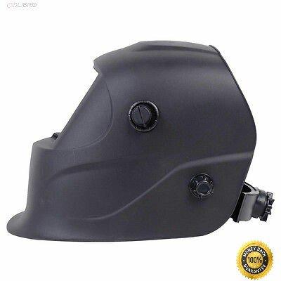 COLIBROX-- Pro Solar Welder Mask Auto-Darkening Welding Helmet Arc Tig mig grinding Black