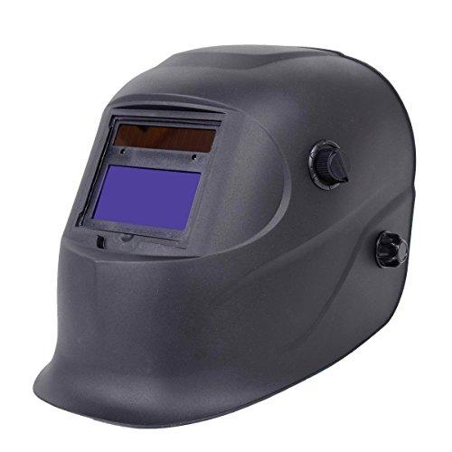 Pro Solar Welder Mask Auto-Darkening Welding Helmet Arc Tig mig grinding Black