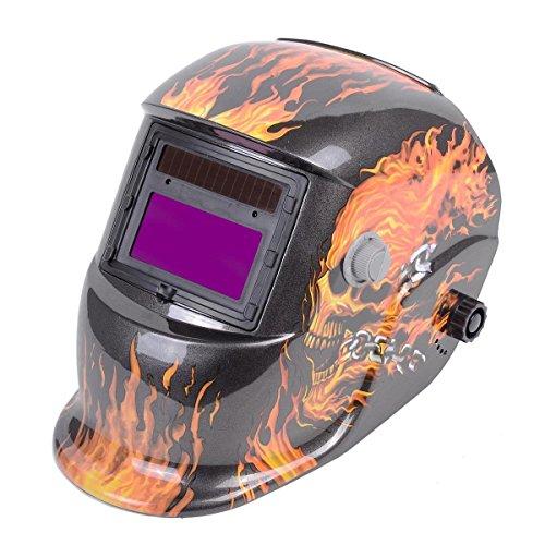 Solar Welder Mask Auto-Darkening Welding Helmet Arc Tig Mig grinding