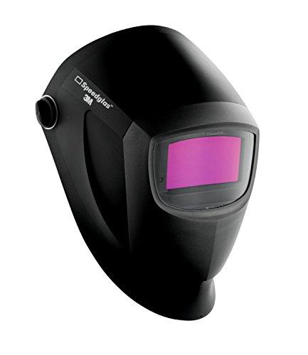 3M Speedglas 27607-case Welding Helmet 9002NC 04-0100-20NC Polycarbote Polyamide BlackSilver