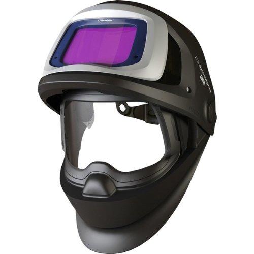 3M Speedglas Welding Helmet 9100 FX  with SideWindows and Standard Size Auto-Darkening Filter 9100V- Shades 5 8-13 Model 06-0600-10SW