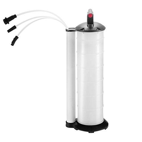 BestEuip 7 Liter Manual Fluid Extractor Oil Changer Vacuum Fluid Extractor Pump Tank Remover Fluid Evacuator Plus for Automotive