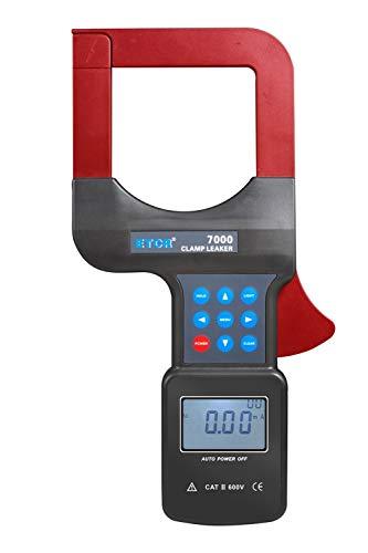 Largement utiliser 3 Phase Digital Large Diameter AC Leakage Current Clamp Meter AC000mA~2000A 001mA Resolution RS232 Interface 99 Data Storage ETCR7000 Human design