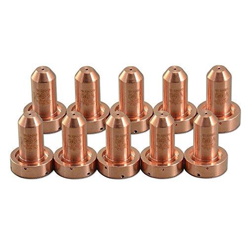 RUISY 10PK 9-8209 Thermal Dynamics SL60&100 Plasma Cutting Nozzle Tips 50-55Amp