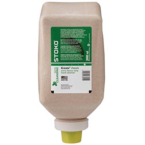 Stoko Kresto 87045 Hand Cleaner 2000 mL SoftBottle Case of 6