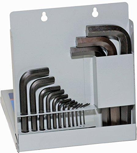 EKLIND 10512 Hex-L Key allen wrench - 12pc set Metric MM sizes 07-10 Short series w metal box