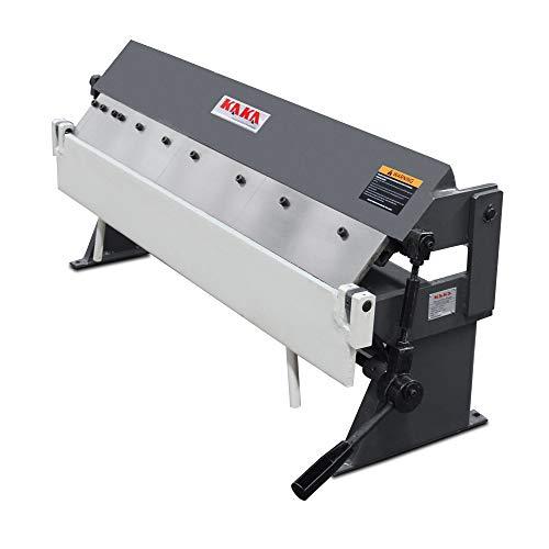 KAKA Industrial Pan and Box Brake High Precision Easy Adjustment Sheet Metal Box Pan Brake 20 Gauges Sheet Metal Brake 36