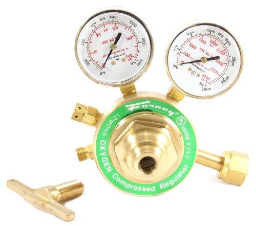 Forney 87100 Oxygen Regulator Heavy Duty Victor Style