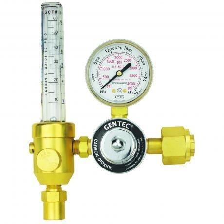 195AR-60-680 GENTEC Heavy Duty Flowmeter Regulator