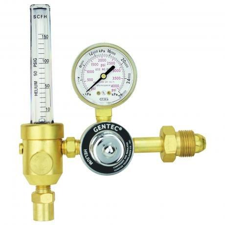 195THE-150-580 GENTEC HD Helium Flowmeter Regulator