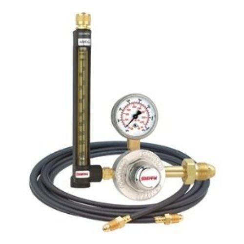 30 Series Flowmeter Regulator 80 psi 2 Argon Carbon Dioxide Mix
