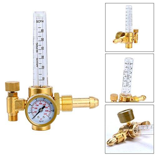 Argon CO2 Mig Tig Flow Meter Regulator Flowmeter Welding Weld Gauge Good Quality