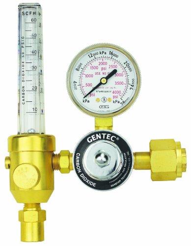GENTEC 195CD-60 Heavy Duty Flowmeter Regulator