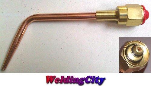 WeldingCity Acetylene Welding Tip 1-W 1 Size 1 for Victor Oxyfuel 300 Series Torch