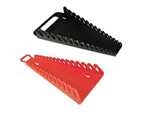 Ernst Mfg 5089 BK  5188 RD Gripper 15 Wrench Organizer Set - YES 1 Each