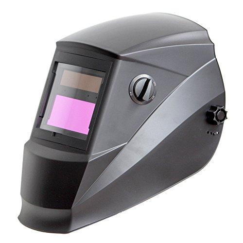 Antra AH6-260-0000 Solar Power Auto Darkening Welding Helmet with AntFi X60-2 Wide Shade Range 45-99-13