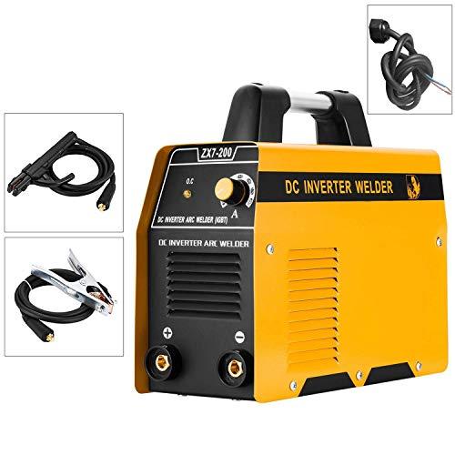 220V ARC Welding Machine 200Amp Power IGBT AC-DC Beginner Portable Welder Without Plug