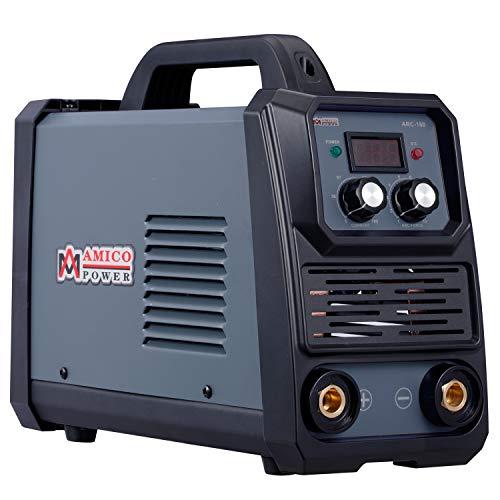 Amico ARC-160 160 Amp Pro Stick Arc DC Inverter Welder 80 Duty Cycle 100~250V Wide Voltage Welding Machine