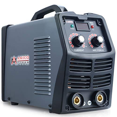 Amico MMA-200 200 Amp Stick Arc IGBT Digital Inverter DC Welder 110V230V Welding Weld All Types Electrodes
