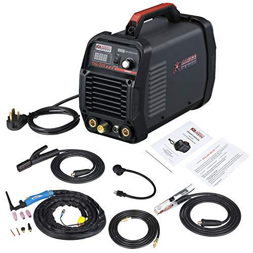 TIG-225 220 Amp High Frequency TIG Stick ARC MMA Welder 115230V Dual Voltage Inverter Welding Machine