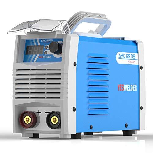 YESWELDER ARC Welder 125Amp Digital Inverter IGBT Stick MMA Welder110220V Dual Voltage Lift TIG Hot Start Portable Welding Machine