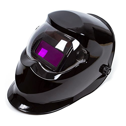 Black Adjustable Auto Darkening Solar Welding Helmet Mask CE ANSI Certified Welder Mask Arc Tig mig Hood