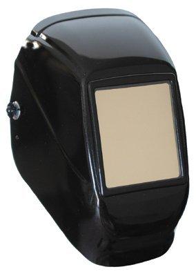 Black Tigerhood Futura 4 12 X 5 14 Wide Vision Welding Helmet WP-451H Shade 10 P-452 Filters 3-C Standard Ratchet Headgear