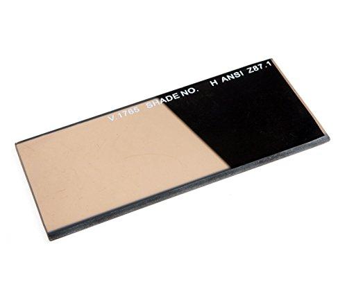 Shade 12 Gold Coated Polycarbonate Welding Filter Lens Plate for Welding HoodHelmet Plastic Gold Lens 2 x 425