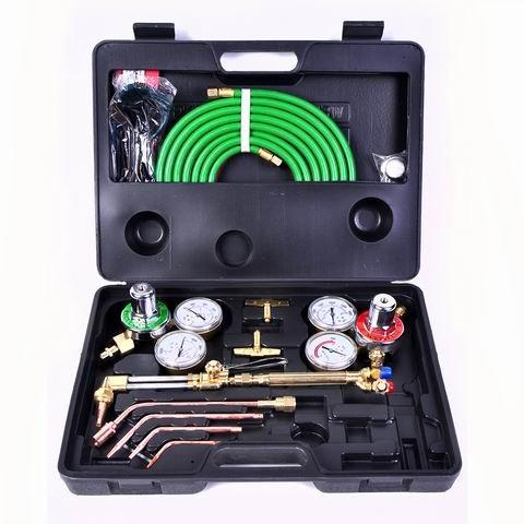 Toolsempire Gas Welding Cutting Kit Oxygen Torch Acetylene Welder Victor Type Tool Set