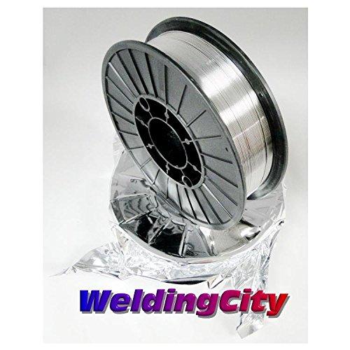WeldingCity 2 Rolls E71T-11 Flux Core Gasless Mild Steel MIG Welding Wire 0030 08mm 2-lb Spool