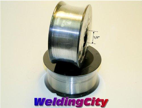 WeldingCity 2 Rolls of ER308L Stainless Steel MIG Welding Wire 2-Lb Spool 0030 08mm