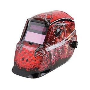 Auto Darkening Welding Helmet RedBlack 600S 9 to 13 Lens Shade