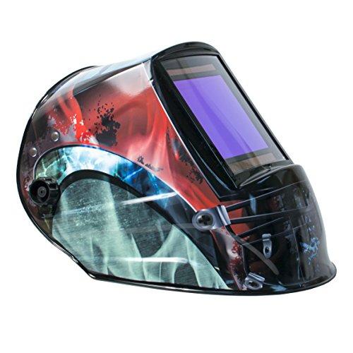 TGR Extra Large View Auto Darkening Welding Helmet - COSMOS - 4W x 365H View