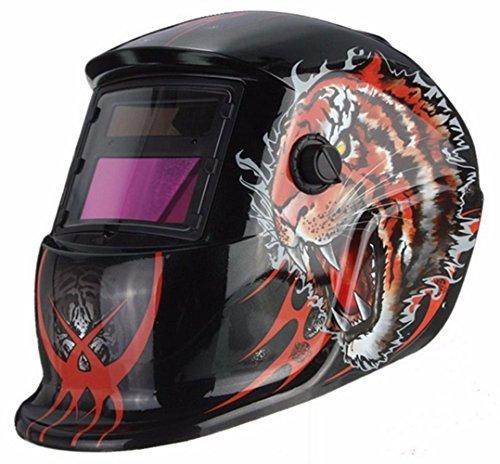 Auto Darkening Solar Welding Helmet Arc Tig Mig Mask Weld Welder Lens Grinding Mask