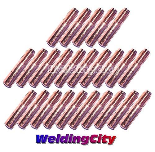 WeldingCity 25-pk MIG Welding Contact Tip 000-069 0045 for Miller Millermatic M-10 M-15 M-25 M-40 M-100 M-150 Hobart H-9 H-10 MIG Guns