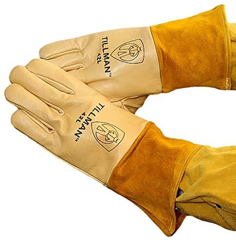 Tillman Welding Safety Gloves 42m Tan