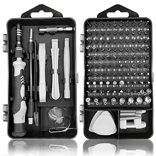Royace Screwdriver Kit119 in 1 Precision Screwdriver Set Mini Screwdriver Set Magnetic Computer Repair Tool Kit Pc Screwdriver Set with Case Torx Set for IphoneElectronicsPs3sHobby Tools