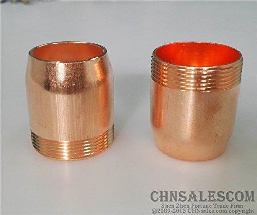 CHNsalescom 2 pcs Nozzle of the Submerged Arc Welding Flux