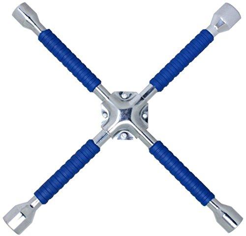 Cartman 16 Universal Anti-Slip Cross Wrench Lug Wrench