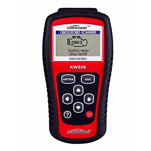 OBD2 Scanner KW808 Car Diagnostic Code Reader CAN Engine Reset Tool KONNWEI